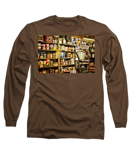 Long Sleeve T-Shirt featuring the photograph The General Store by Lana Trussell