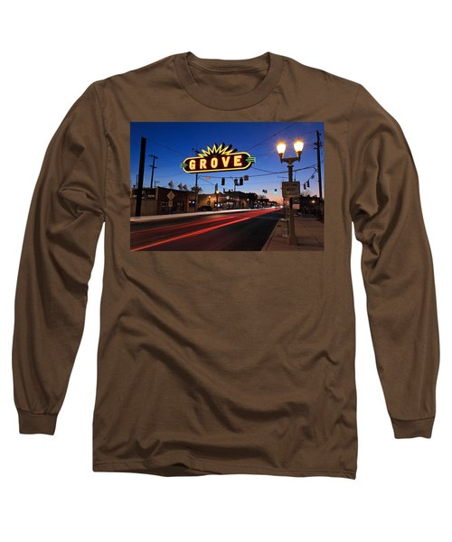 The Grove In Twilight Long Sleeve T-Shirt