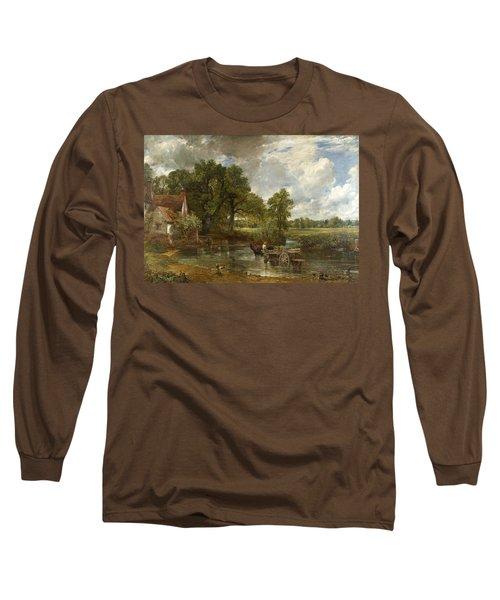 The Hay Wain Long Sleeve T-Shirt