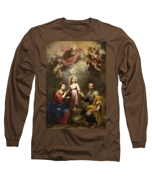 The Heavenly And Earthly Trinities Long Sleeve T-Shirt