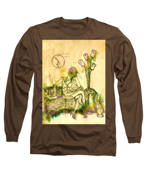 The Hold Up Sepia Tone Long Sleeve T-Shirt
