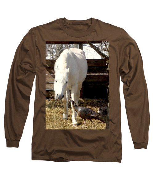 The Horse And The Turkey Long Sleeve T-Shirt