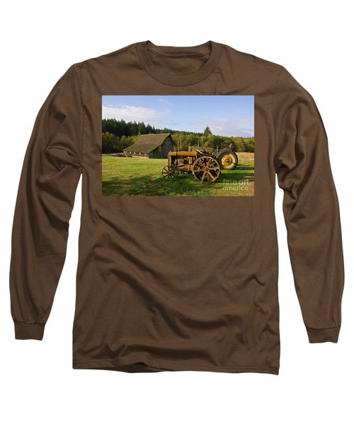 Long Sleeve T-Shirt featuring the photograph The Johnson Farm by Sean Griffin