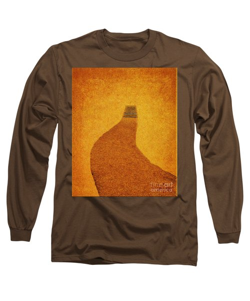 The Journey Long Sleeve T-Shirt by Carol F Austin