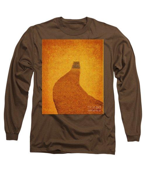 The Journey Pathway Minimalism Long Sleeve T-Shirt
