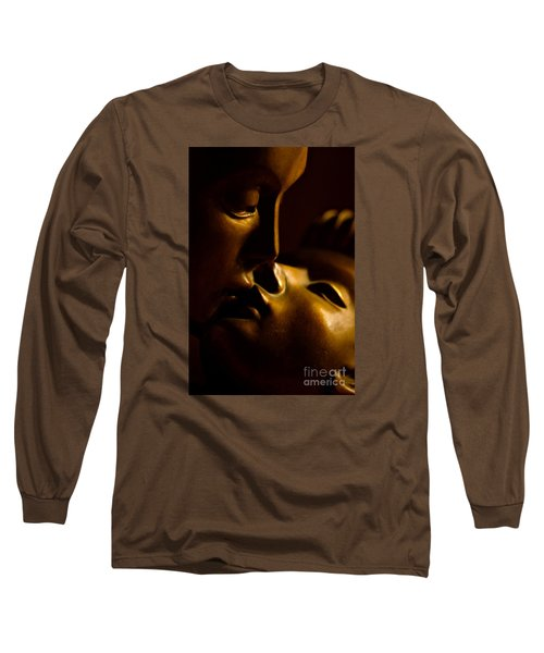 The Kiss Long Sleeve T-Shirt by Michael Cinnamond