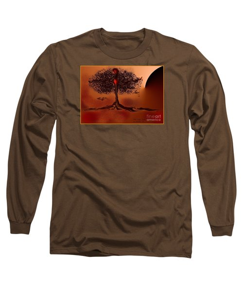 The Last Tree Long Sleeve T-Shirt by The Art of Alice Terrill