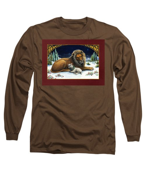 The Lion And The Lamb Long Sleeve T-Shirt