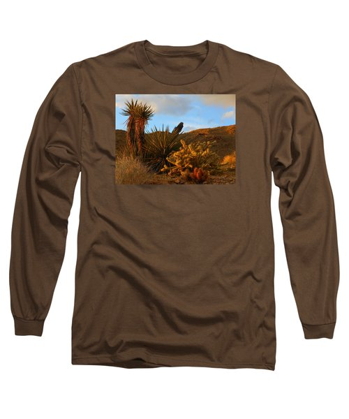 The Living Desert In Winter Long Sleeve T-Shirt
