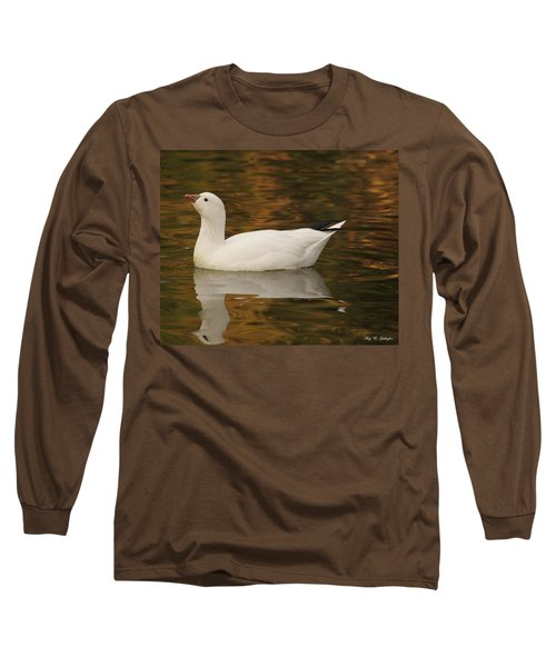 The Lovely Snow Long Sleeve T-Shirt by Amy Gallagher