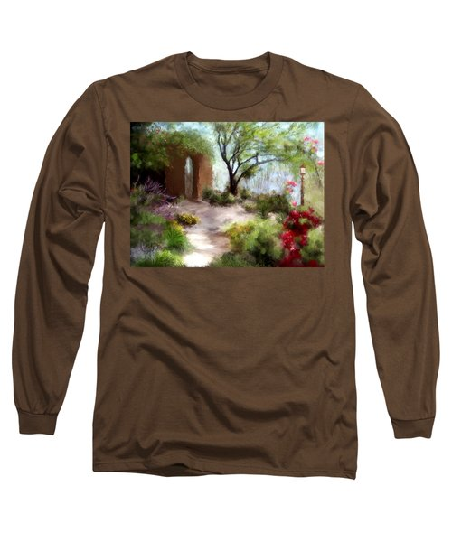 The Meditative Garden  Long Sleeve T-Shirt