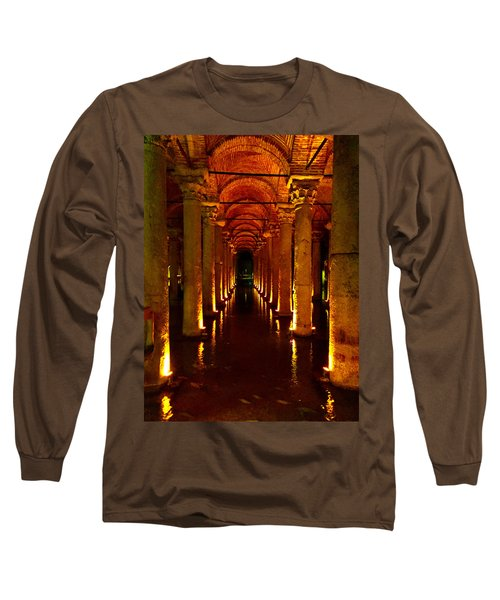 The Most Romantic Place Of Istanbul Long Sleeve T-Shirt by Zafer Gurel
