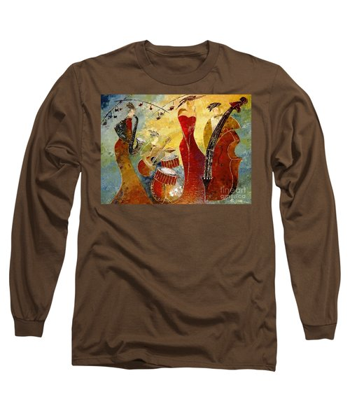 The Music Never Stopped Long Sleeve T-Shirt