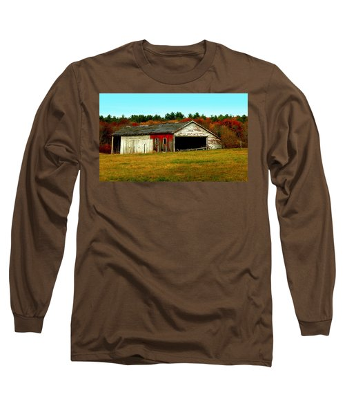 Long Sleeve T-Shirt featuring the photograph The Old Barn by Bruce Carpenter