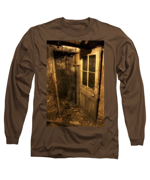 The Old Cellar Door Long Sleeve T-Shirt by Dan Stone