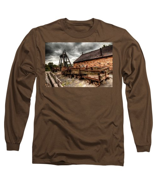 The Old Mine Long Sleeve T-Shirt by Adrian Evans