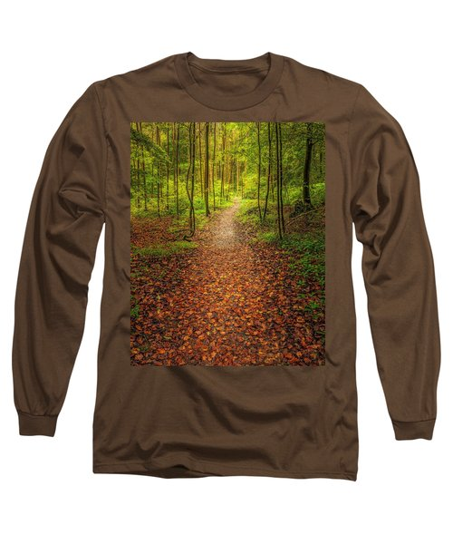 Long Sleeve T-Shirt featuring the photograph The Path by Maciej Markiewicz