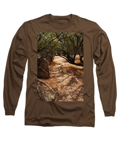 The Path Long Sleeve T-Shirt by Michael McGowan