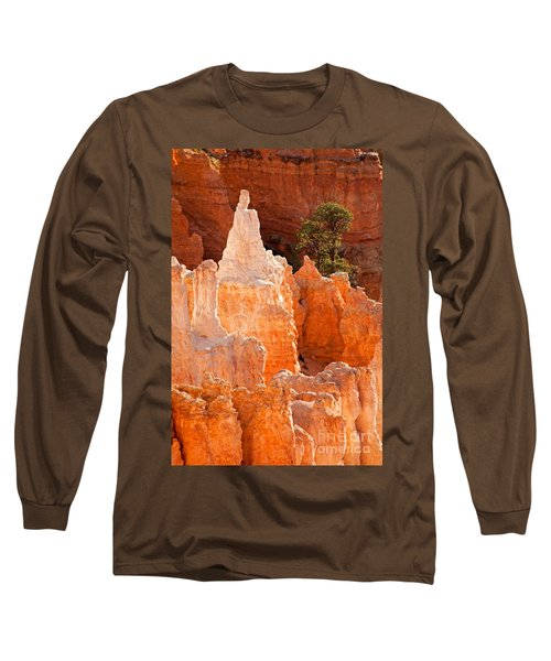 The Pope Sunrise Point Bryce Canyon National Park Long Sleeve T-Shirt