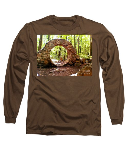 The Portal To Love Life Peace Long Sleeve T-Shirt