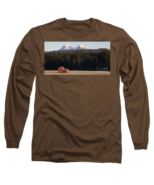 The Red House Long Sleeve T-Shirt by Chris Dutton