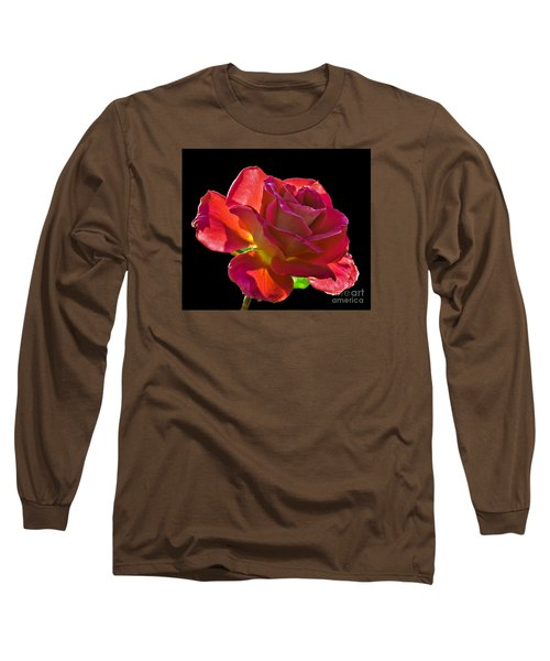 The Red One Long Sleeve T-Shirt by Robert Bales