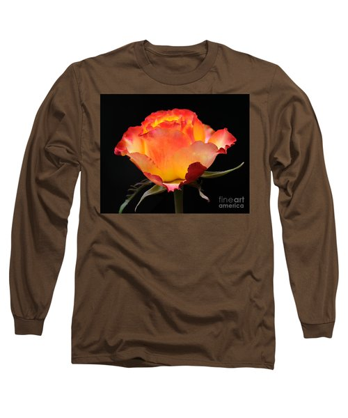 Long Sleeve T-Shirt featuring the photograph The Rose by Vivian Christopher