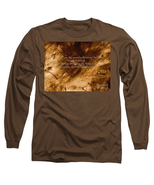 The Serenity Prayer 1 Long Sleeve T-Shirt