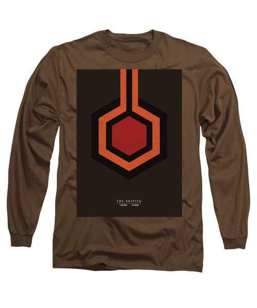 The Shining Long Sleeve T-Shirt by Mike Taylor