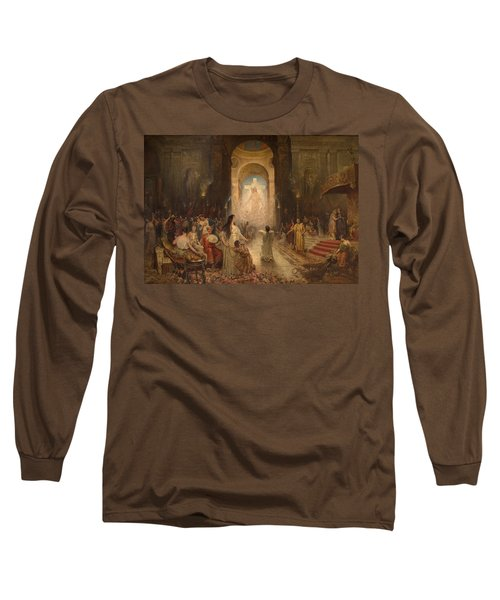The Sign Of The Cross Long Sleeve T-Shirt