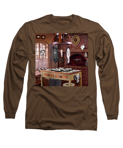 The Soft Clock Shop 3 Long Sleeve T-Shirt