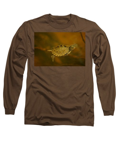 The Southeastern Map Turtle Long Sleeve T-Shirt