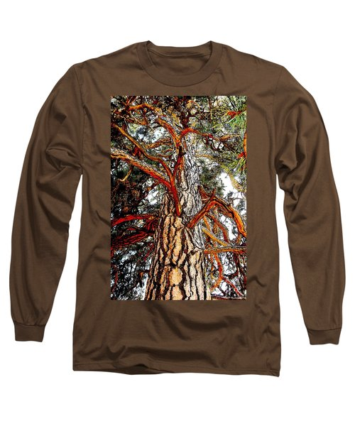 Long Sleeve T-Shirt featuring the photograph The Strong One by Joseph J Stevens