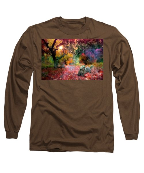 The Tree Where I Used To Live Long Sleeve T-Shirt