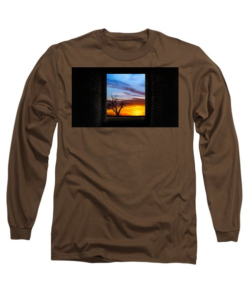 The Tunnel   Sunset1 Long Sleeve T-Shirt