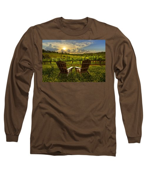 The Vineyard   Long Sleeve T-Shirt
