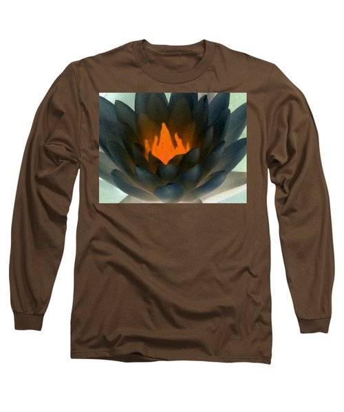 Long Sleeve T-Shirt featuring the photograph The Water Lilies Collection - Photopower 1038 by Pamela Critchlow