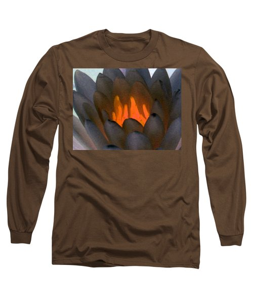 Long Sleeve T-Shirt featuring the photograph The Water Lilies Collection - Photopower 1044 by Pamela Critchlow