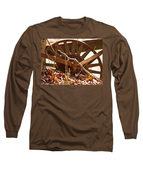 Long Sleeve T-Shirt featuring the photograph The Wheel Of Planting by Nick Kirby