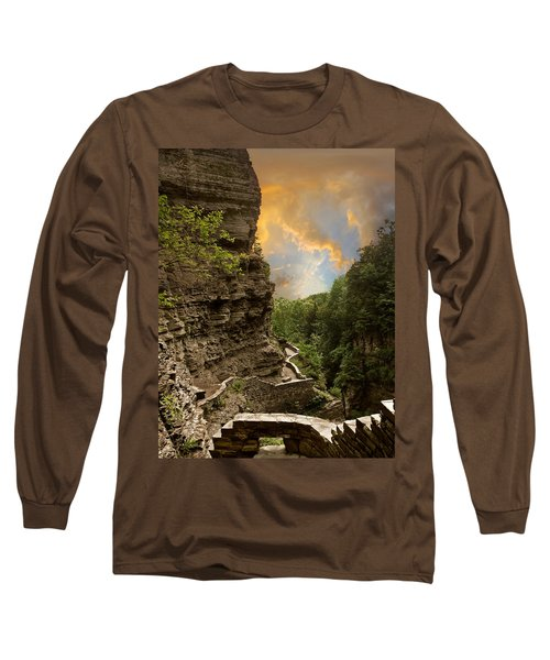 The Winding Trail Long Sleeve T-Shirt