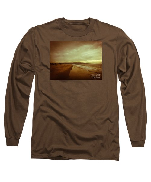 The Winter Pacific Long Sleeve T-Shirt by Fei A