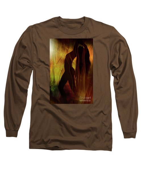 The Witches Dance... Long Sleeve T-Shirt by Nina Stavlund