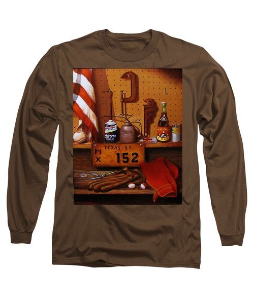 The Workshop Long Sleeve T-Shirt by Gene Gregory