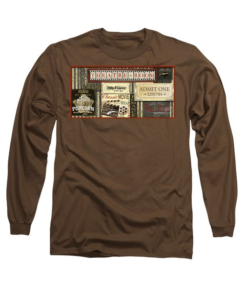 Theatre Room Long Sleeve T-Shirt by Jean Plout