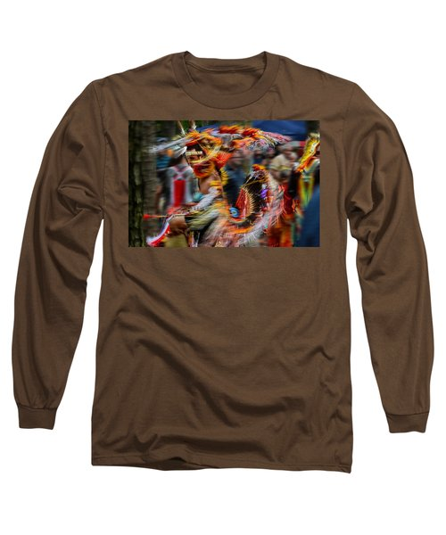 Long Sleeve T-Shirt featuring the photograph Their Spirit Is Among Us - Nanticoke Powwow Delaware by Kim Bemis