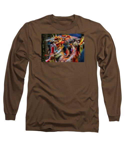 Their Spirit Is Among Us - Nanticoke Powwow Delaware Long Sleeve T-Shirt
