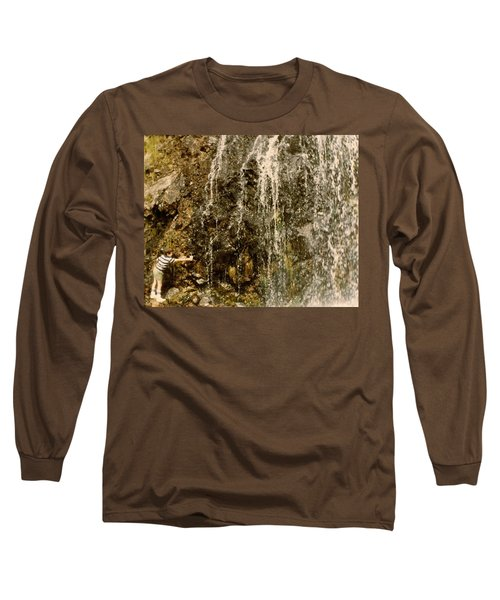 Long Sleeve T-Shirt featuring the photograph Thirsty by Amazing Photographs AKA Christian Wilson