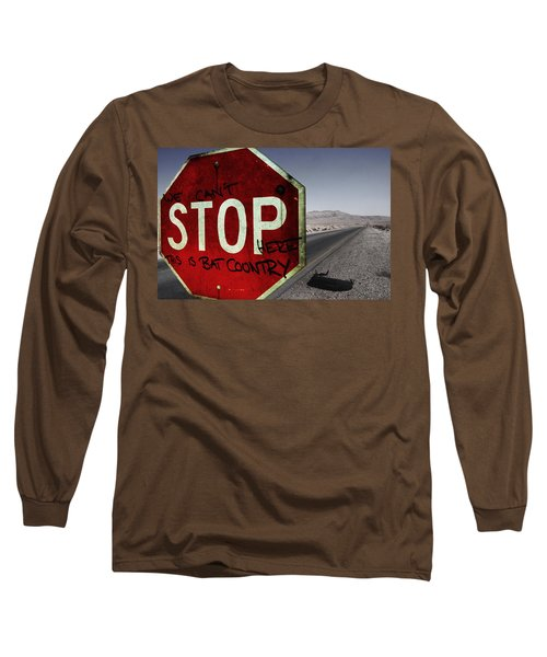 This Is Bat Country Long Sleeve T-Shirt