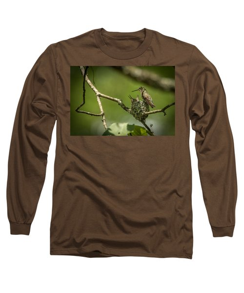 Three Beaks Long Sleeve T-Shirt
