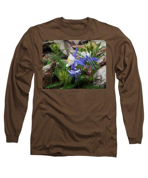 Three Columbine Long Sleeve T-Shirt